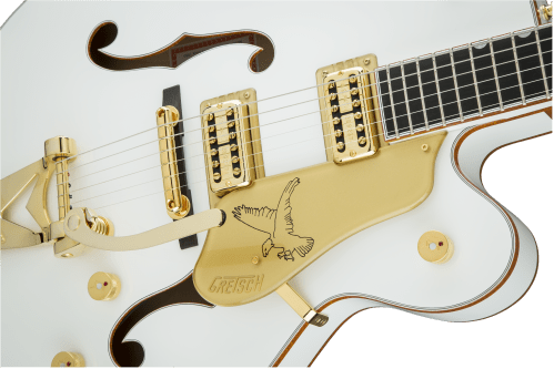 small resolution of hollow body g6136t wht players edition falcon with string thru bigsby filter tron pickups white