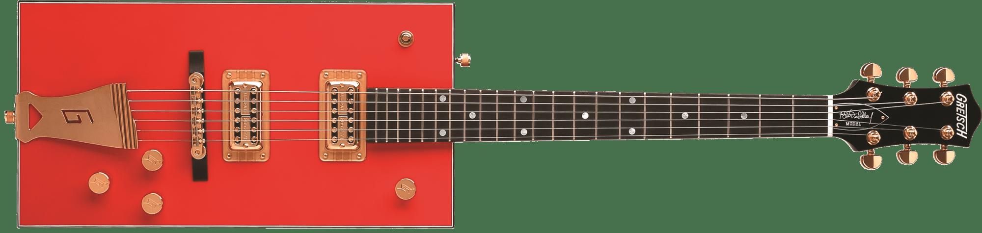hight resolution of g6138 bo diddley g cutout tailpiece ebony fingerboard firebird red