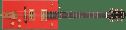 small resolution of g6138 bo diddley g cutout tailpiece ebony fingerboard firebird red