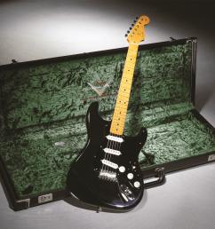david gilmour signature stratocaster artist series fender custom shop [ 2400 x 1801 Pixel ]