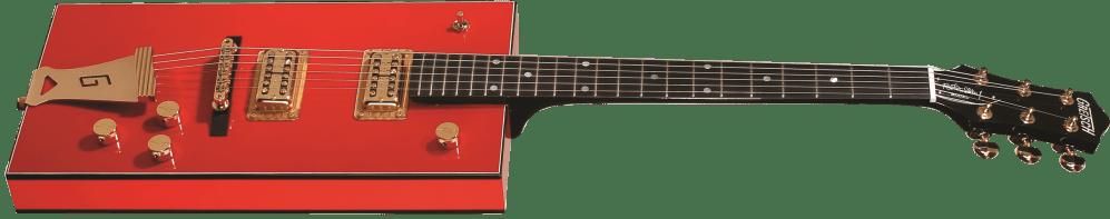 medium resolution of g6138 bo diddley g cutout tailpiece ebony fingerboard firebird red