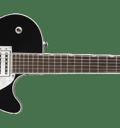 g5425 jet club rosewood fingerboard black [ 2400 x 815 Pixel ]