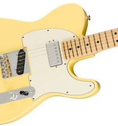 american performer telecaster hum electric guitars fender hs tele wiring diagrams [ 2400 x 1507 Pixel ]