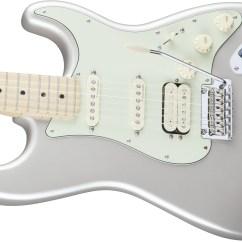 Fender Stratocaster Deluxe Hss Wiring Diagram For Off Road Lights Noiseless Rickenbacker Elsavadorla