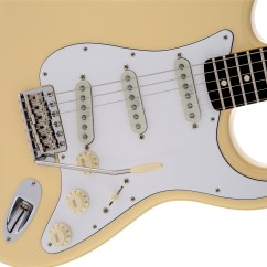 Fender American Professional Jazzmaster Wiring Diagram 3 Phase Motor Contactor Yngwie Malmsteen Stratocaster Scalloped Rosewood