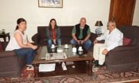 El Intendente recibió al Director de Emergencia Provincial
