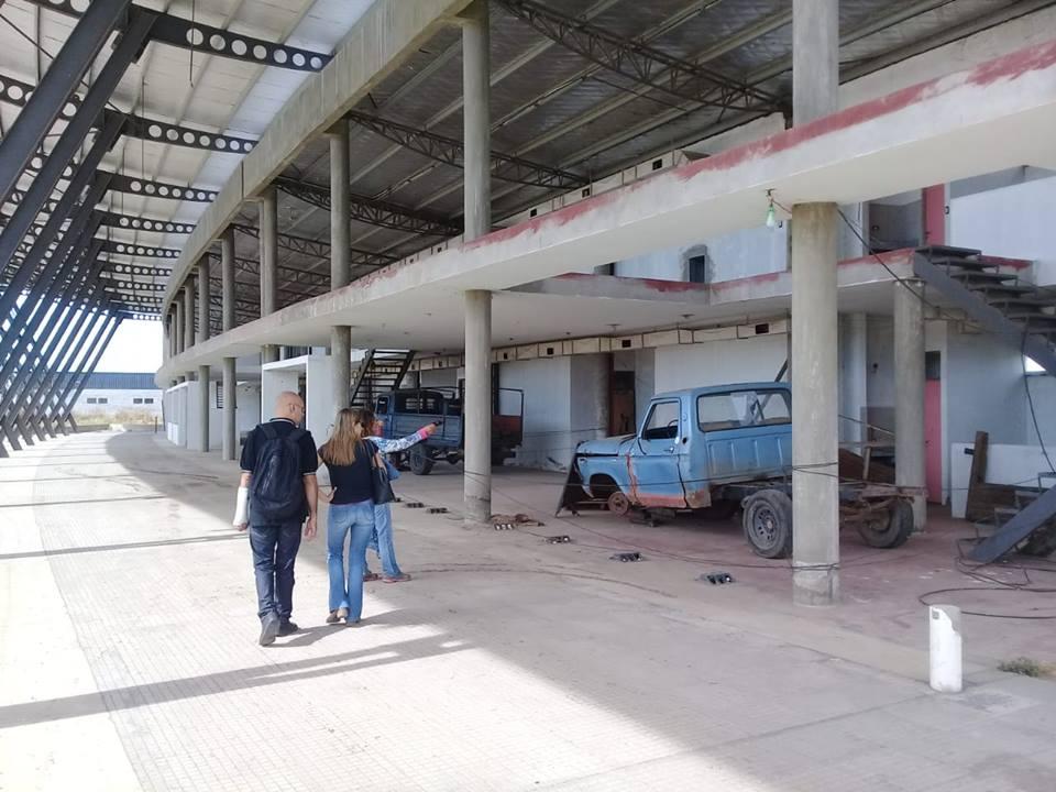 """Sol Fernandez""""Utilizaron las obras de la terminal para que funcione como un taller mecánico"""""""