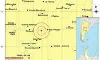 Temblor en el centro del Pais , se sintio en Villegas , Banderaló, Larroude