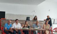 Concejales del Frente de Todos y Renovador se reunieron con vecinos de Charlone
