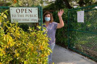 Gardens Now Open