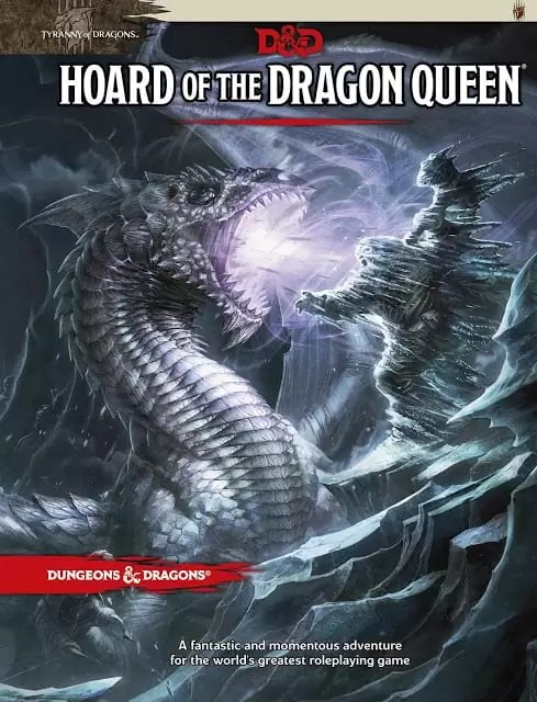Inicia la aventura D&D El tesoro de la reina dragon, Parte 1.