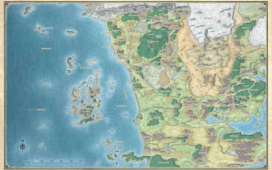 Conociendo los Reinos Olvidados para jugar Role Play D&D