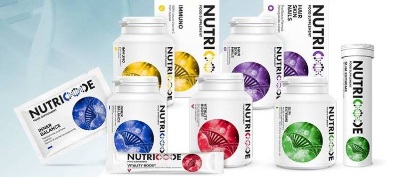 nutricode food supplement range