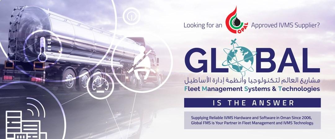 OPAL Banner, Global Fleet Management System Oman