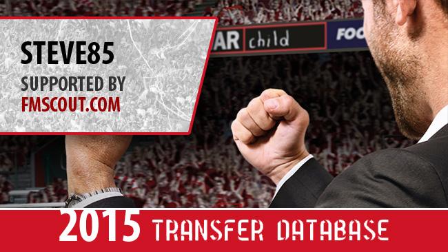 STEVE85 2015 Transfer Update