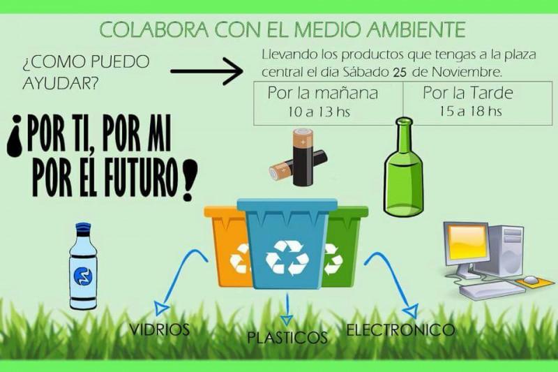 «¡Por ti, por mi, por el futuro!» Campaña por el medio ambiente