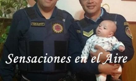 Reconocimiento a policias de Cabrera en La Carlota