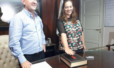 Asunción de Belén García como secretaria de gestiones administrativas y control