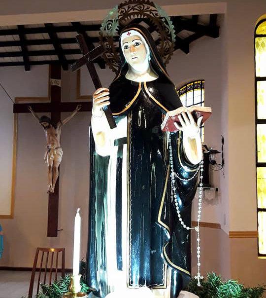 Carnerillo   Novena y fiesta patronal en honor a Santa Paula
