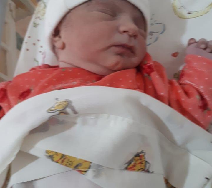 Te presentamos a «Victoria» el primer bebé del año nacido en Cabrera