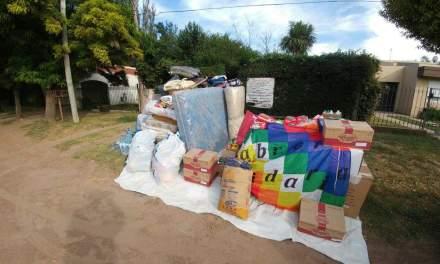 Cabrera Solidaria se prepara para cargar las donaciones rumbo al Chaco Salteño