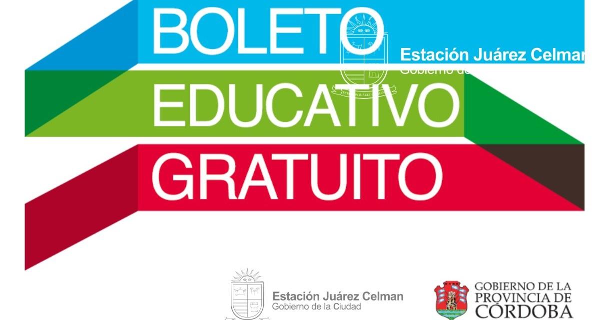 Comienza hoy el tramite para el Boleto Educativo