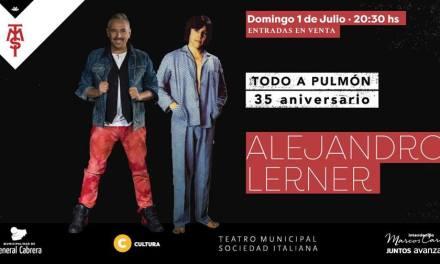 Record de ventas de entradas para Alejandro Lerner