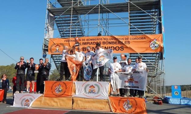 Bomberos de Cabrera Sub Campeones provinciales en Villa General Belgrano