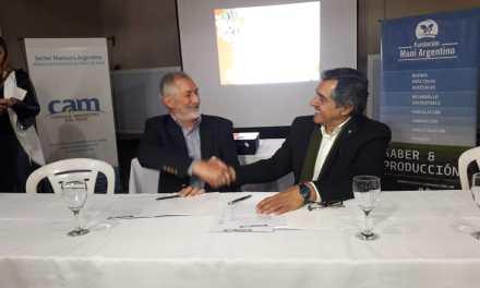 Firma de Convenio de Colaboración Ministerio de Ciencias y Tecnología de Cba y Fundación Maní Argentino
