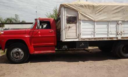 Secuestro de camión con motor cambiado