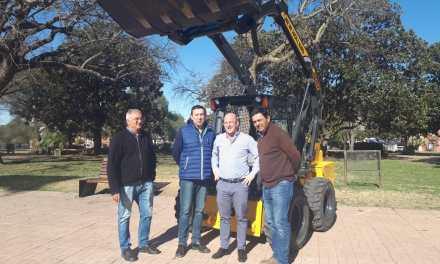 Nueva herramienta para el Parque Automotor Municipal