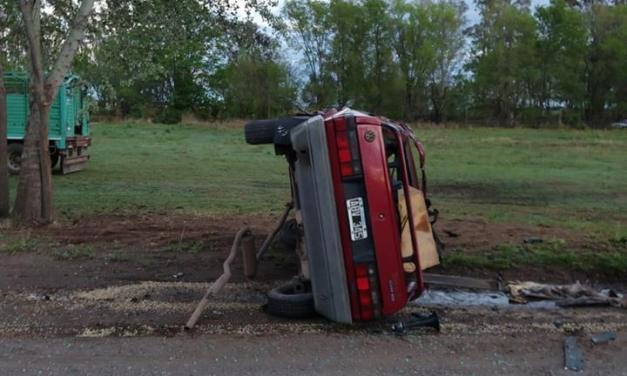 Falleció un joven cabrerense en un accidente