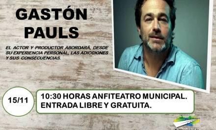 EL ACTOR GASTÓN PAULS LLEGA A CARNERILLO