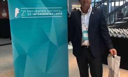 El Intendente de Cabrera en el Encuentro Nacional de Intendentes en Buenos Aires