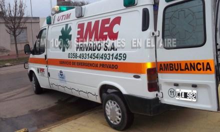 Fallece persona por paro cardiorespiratorio en Barrio Argentino