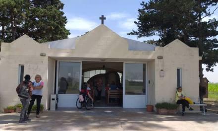Primera peregrinación a la Virgen de Fátima en el Espinillal