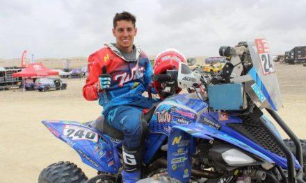 La palabra de Cavigliasso tras ganar la Etapa 1 del Dakar