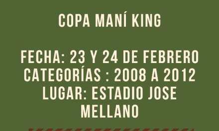 Primer Torneo Infantil Copa Maní King