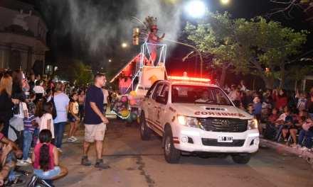 Exitosos Carnavales de Bomberos – Más de 4 mil personas