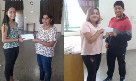 Centro Vecinal B° Argentino  entregó Becas Universitarias, Guardapolvos Kit escolares y realizó mantenimiento en las instalaciones