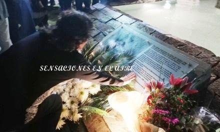 Emotivo  e Histórico acto del 2 abril – Se colocó lápida del Capitán Castagnaris del Cementerio de Darwin en General Cabrera