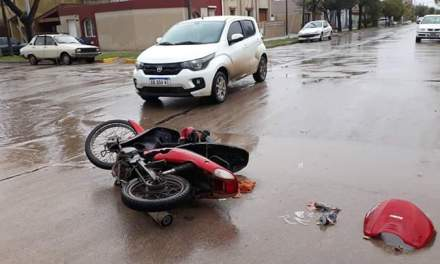 Accidente con lesionado