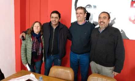 CONFERENCIA DE PRENSA CON EL CANDIDATO A LEGISLADOR SERGIO GIORGETTI POR LA UCR