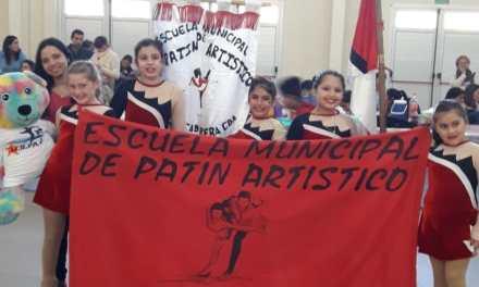 Escuelas de Patín participaron del primer torneo zonal en la localidad de Pasco