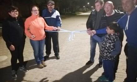 Se inauguró la calle N° 26 de Adoquines en la ciudad