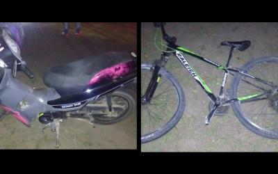 Accidente en la ciclovía