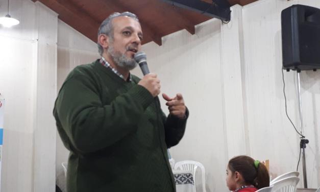 Jornada de Convivencia con la visita de César Tapia