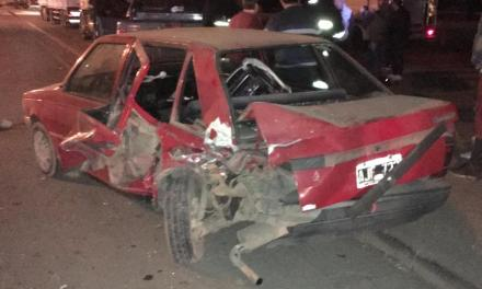 Dalmacio- Múltiple accidente sobre Ruta 158
