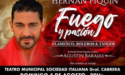 El próximo Domingo se presenta por 3° vez Hernán Piquín en el TMSI