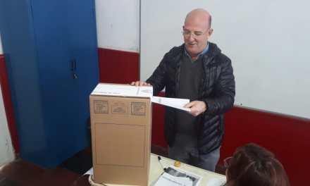 Elecciones PASO votó Carasso candidato a Diputado Nacional